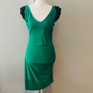 👗 Jay Godfrey emerald green cocktail dress